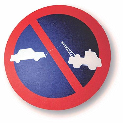 'Schild Parken verboten Für Wand Oder Tür-Garage–strapazierfähig–Aluminium (nicht PVC)–20cm–Doppelseitiges selbstklebend wird mitgeliefert (