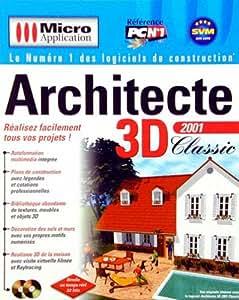 Architecte 3d classic 2001 logiciels for Architecte 3d 2001