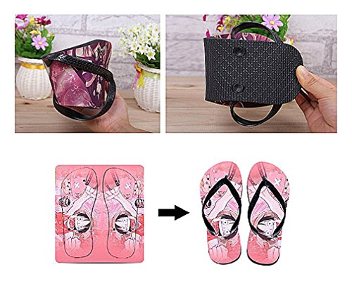 Bromeo Kagerou Project Anime Unisexe Flip Flops Tongs 390