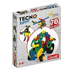 Quercetti Tecno Basic - Juegos educativos (Caja)