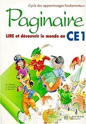 Paginaire, CE1. Guide pédagogique