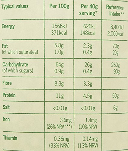– Flahavan's – Organic Porridge Oats – 1kg miglior prezzo