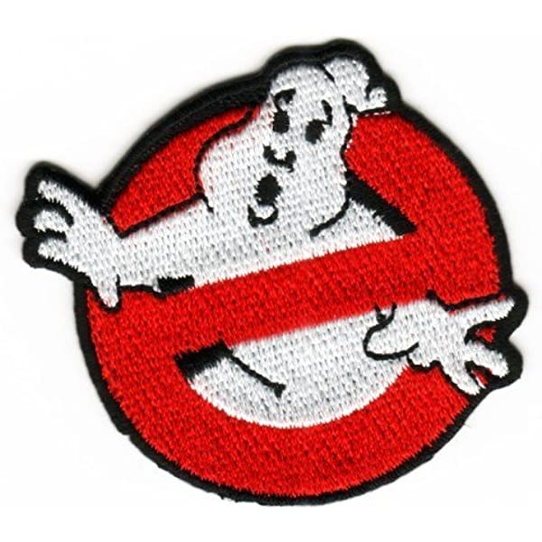 Ghostbusters Logo /& Venkman Name Embroidered Iron on Patch Set of 2