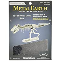 Metal Earth Fascinations 3D Laser Cut Model - T. Rex Skeleton