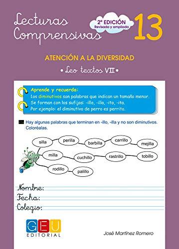 Lecturas comprensivas 13 - Leo Textos VII por José Martínez Romero