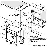 Neff B1ECC0AN0 / BCB1402 / Backofen / Elektro / Einbau / 59,4 cm / Edelstahl / Klapptür Vergleich