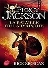 Percy Jackson, tome 4 : La bataille du labyrinthe par Riordan