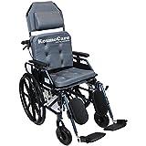 KosmoCare Recliner Light Premium Reclining Foldable Wheelchair With Aluminium Frame-Crest Series