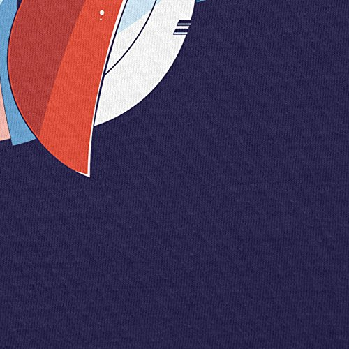 TEXLAB - Rock Man - Herren Langarm T-Shirt Navy