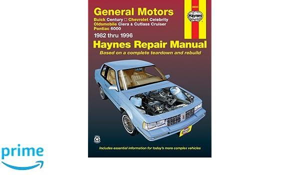 1995 oldsmobile cutlass ciera repair manual free