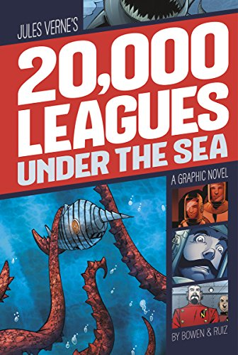 20,000 Leagues Under the Sea: A Graphic Novel (Graphic Revolve: Common Core Editions)