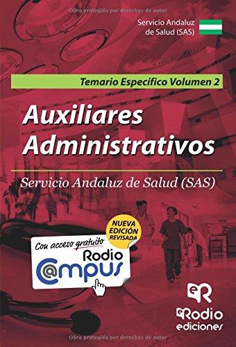 auxiliares-administrativos-del-sas-temario-especifico-vol-2-segunda-edicion-oposiciones