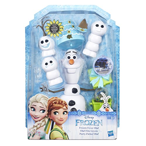 Frozen Spiel Disney Party (Hasbro Disney Die Eiskönigin B5167EU0 - Disney Die Eiskönigin Party-Fieber Olaf,)