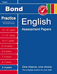 Bond Introductory Papers in English 5-6 Years (Bond Assessment Papers)