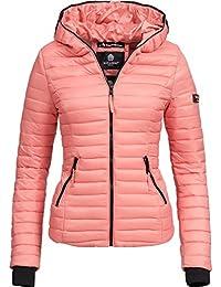 Navahoo Damen Jacke Übergangsjacke Steppjacke Kimuk 15 Farben XS-XXL