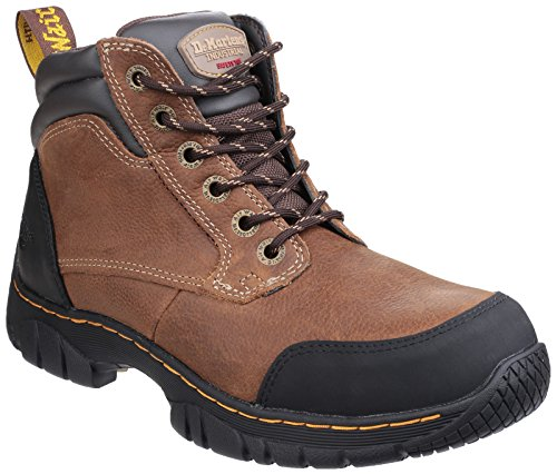 Dr Martens Mens & Womens Riverton SB Lace up Hiker SRC Safety Boots (Martens Safety Boot)