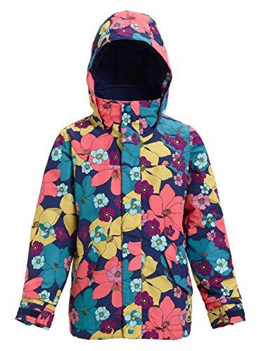 Burton Mädchen Elodie Snowboard Jacke, Flowers!, XS (Snowboard-jacken Für Kinder)