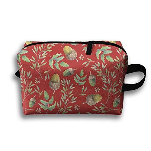 Sacchetto cosmetico impermeabile di trucco della borsa cosmetica da toilette portatile dell'acquerello di Mori di stile