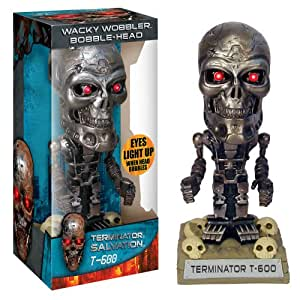 Funko - BOBFUN273 - Figurine - Terminator 4  Salvation - Bobble Head T-600 w/ LED-Light Eyes - 17 cm