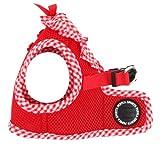 Puppia PALA-AH860 Hundeweste, Vivien B, Größe M, rot