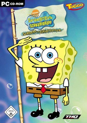 SpongeBob Schwammkopf, Schlacht um Bikini Bottom, 1 CD-ROM Für Windows - Bottom Bikini Schlacht Um