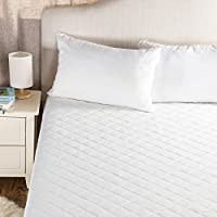 Bedsure Waterproof Mattress Protector Double Bed - Breathable Fitted Mattress Cover with Deep Pocket, 135 x 190 cm