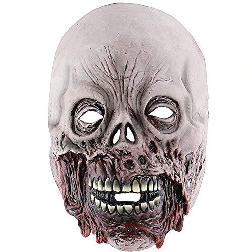 Bsjz Scary Latex Maske Faulen Mund Zombie Weird Halloween Kostüm Zubehör