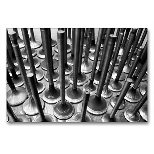 Premium Textil-Leinwand 90 x 60 cm Quer-Format Motorventile   Wandbild, HD-Bild auf Keilrahmen, Fertigbild auf hochwertigem Vlies, Leinwanddruck von Frank Uffmann
