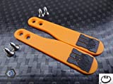 Paddle Mod Kit DIY Universal Paddles, PS3,PS4,Xbox,+2Taster+40cmKabel Farbe logo (Orange BO3)