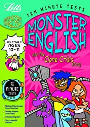 Ten Minute Monster Tests English 10-11: Ages 10-11