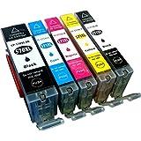 Youprint 5 kompatible Druckerpatronen YP-PGI570 YP-CLI571 5er Pack (Schwarz, Cyan, Magenta, Yellow, Fotoschwarz) - gut und günstig