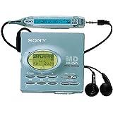Sony MZ-R91 tragbarer MiniDisc-Player meer-blau