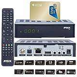 Apebox S2,USB,CA,IPTV, Sender Vorinstalliert, Astra+Hotbird + Aktivierte Tivusat Karte