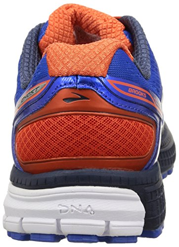 Brooks Ghost 8 M, Running homme bleu / rouge / blanc