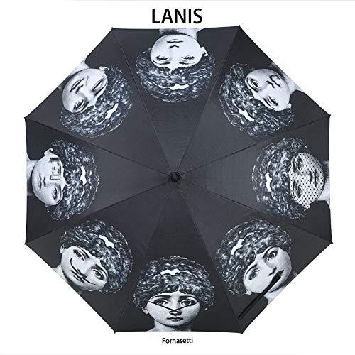 SUNNYFOR Fornasetti Ombrello da Pioggia Ombrello da Pioggia Ombrello da Donna Ombrello da Donna Betty Boo