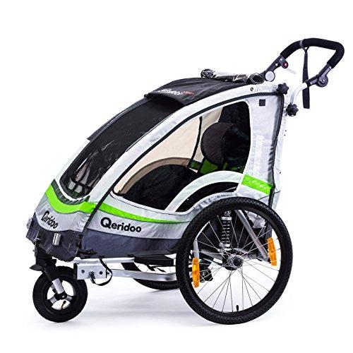 Qeridoo Sportrex 1 Deluxe Kinder-Fahrradanhänger