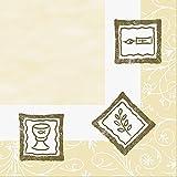 Duni Poesie-Servietten aus Dunilin Motiv Konfirmation, 40 x 40 cm 50 Stück