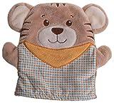 Bieco 04014229 - Handpuppe Tommy Tiger, ca. 19 cm