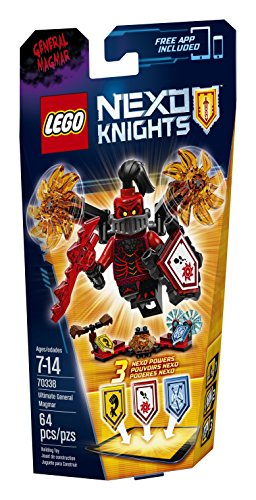 LEGO Nexo Knights 70338 Ultimate General Magmar Building Kit (64 Piece) by LEGO