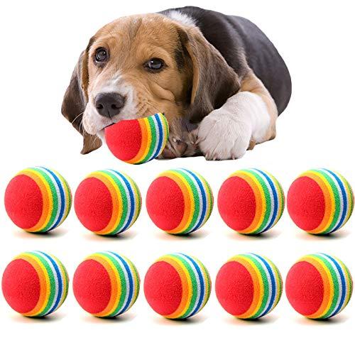 GUODOGUUP Spielzeug Für Haustiere Lot Mini Kleiner Hundespielzeug Für Haustiere Hunde Kauen Ball Welpen Hund Ball Für Pet Spielzeug Welpen Tennisball Hundespielzeug Ball Pet Produkte