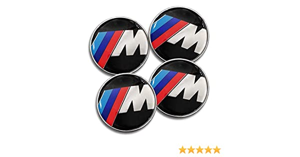Set of 4 Wheel Center Caps Hub Caps 68mm // Standard Fit for All Models//M Serie//Center Caps for BMW DIYcarhome