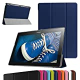 Lenovo Tablet2-X30F / A10-30 Ultra Funda,Mama Mouth Ultra Slim Ligera PU Cuero Con Soporte Funda...