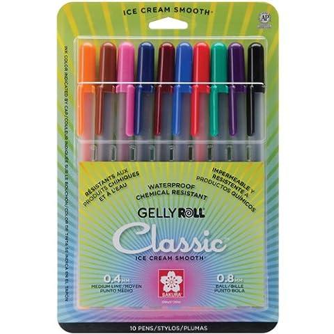 Gelly Roll Classic Medium 10/Pkg 37460