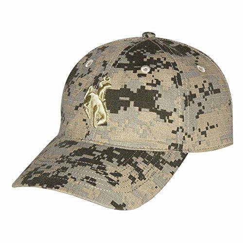 Ouray Sportswear NCAA Wyoming Cowboys Unisex Digital-Camouflage-Mütze für Erwachsene, verstellbare Größe (Camouflage Cowboy Mütze)