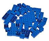 Simba 104114124 - Blox 50 Blaue Steine in Folienbeutel