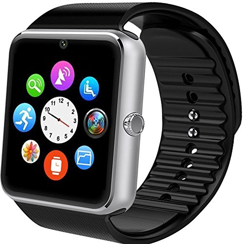 Reloj Inteligente Willful smartwatch Android Fitness Tracker con Ranura para SIM, Reloj Deportivo con Podómetro, Sueño, Calorías Samsung Sony Huawei Android para Hombres Mujeres Niño