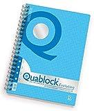 Quaderno spiralato QUABLOCK EVOLUTION SKIP Pigna A4 5 mm 50 ff 02112175M -NON DISPON.FINO SETT.