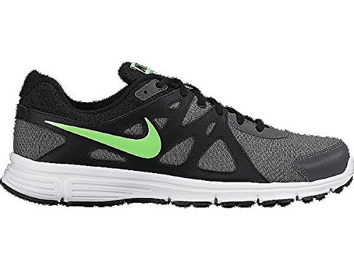 Nike Men's Revolution 2MSL Black Green and White Running Shoes(554954-059) Size -5.5 UK/India(6 US)(38.5 EU)  available at amazon for Rs.2895