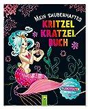 Mein zauberhaftes Kritzel-Kratzel-Buch: Kratzmotive mit tollen Farbeffekten - Mit Holz-Stick