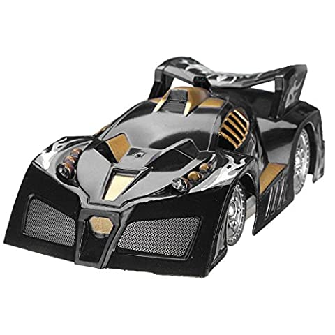 TOOGOO(R) Mini RC Remote Controlled Wall Car Climbing Car Remote Control Car Toy Gift Climb Car Race Car Model Infrared Remote Control black